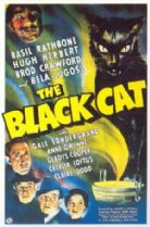 The Black Cat 1941 DVD - Basil Rathbone / Hugh Herbert